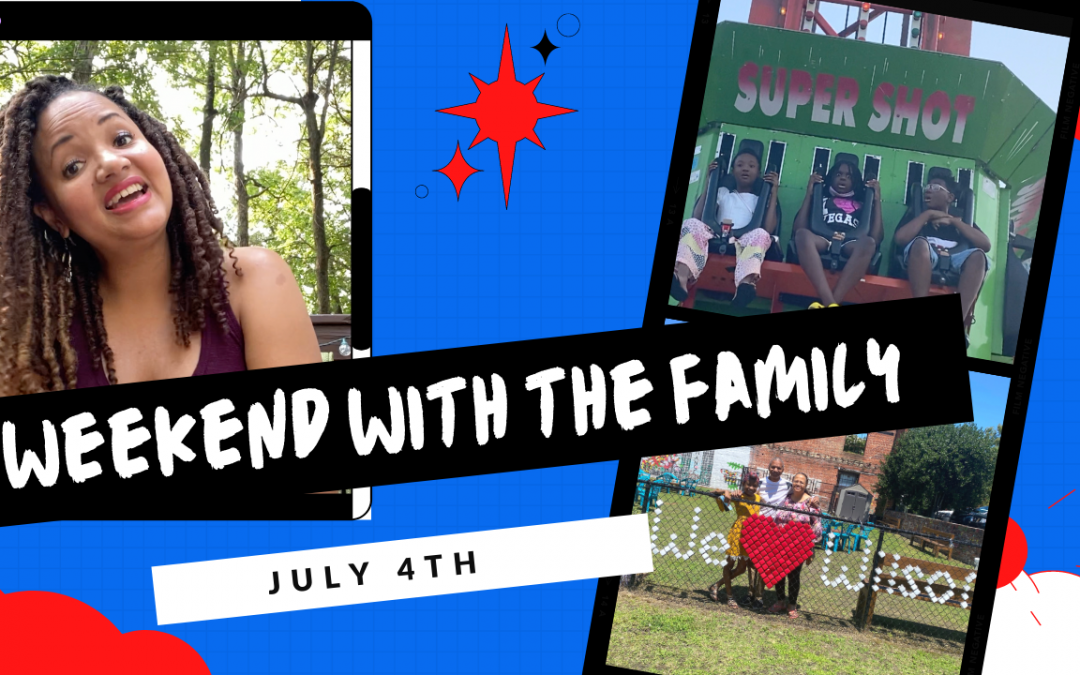 4th of July Vlog   Family Time, Cookout, Carnivals, and Fireworks