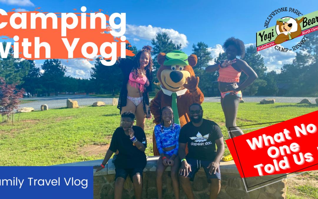 We Went Camping!   Yogi Bear Jellystone Park   Asheboro, NC   Our Family Camping Vlog